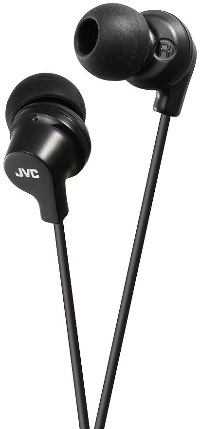 JVC HA-FX10-B-E - Auriculares in-Ear, Color Negro
