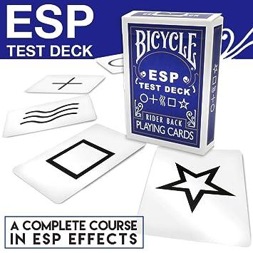 ESP Test Deck + DVD: Amazon.es: Juguetes y juegos
