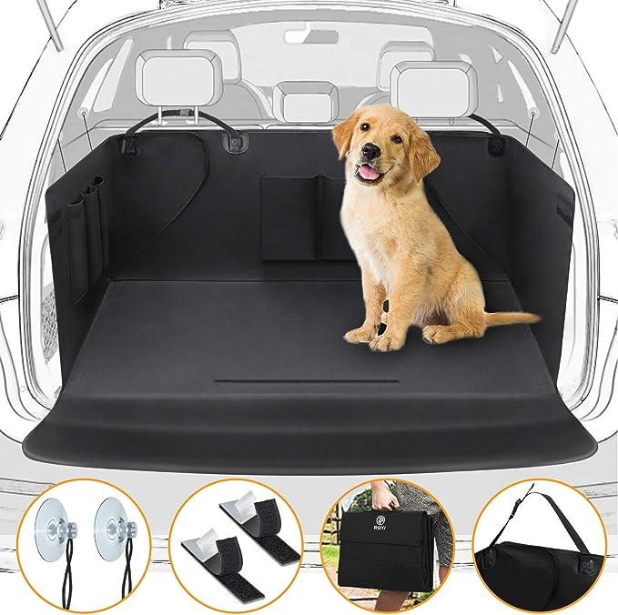 Wimypet Universeller Kofferraumschutz Kofferraumdecke Für Hunde Wasserdichter Kofferraum Hundedecke Auto Schutzdecke 2 In 1 Mit Seitenschutz Für Pkw Lkw Van Und Suv 171x101cm Haustier