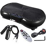 ReaseJoy 500W Vibration Plate Crazy Fit Massage Exercise Machine Oscillating Platform Black