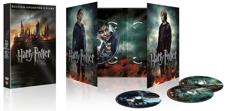 Harry Potter et les Reliques de la Mort - 1ère et 2ème partie Francia DVD: Amazon.es: Daniel Radcliffe, Rupert Grint, John Hurt, Jason Isaacs, Alan Rickman, Fiona Shaw, Timothy Spall, Imelda Staunton,