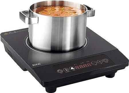 SOGO Placa de Inducción Portátil, Cocina de Inducción de 2000W ...