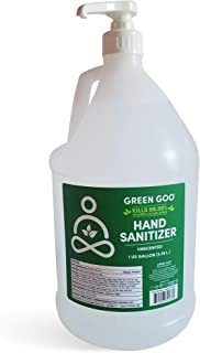 product image for Green Goo Hand Sanitizer Gel, Unscented, 1-gallon Jug with Pump