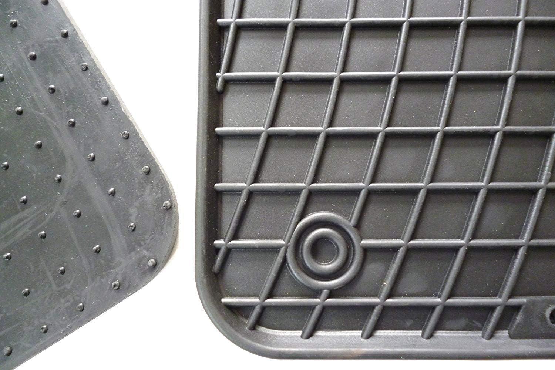 Frogum Alfombrillas de Goma Mercedes ML W166 2011-2015 Accesorios Coche Alfombra Goma Suelo
