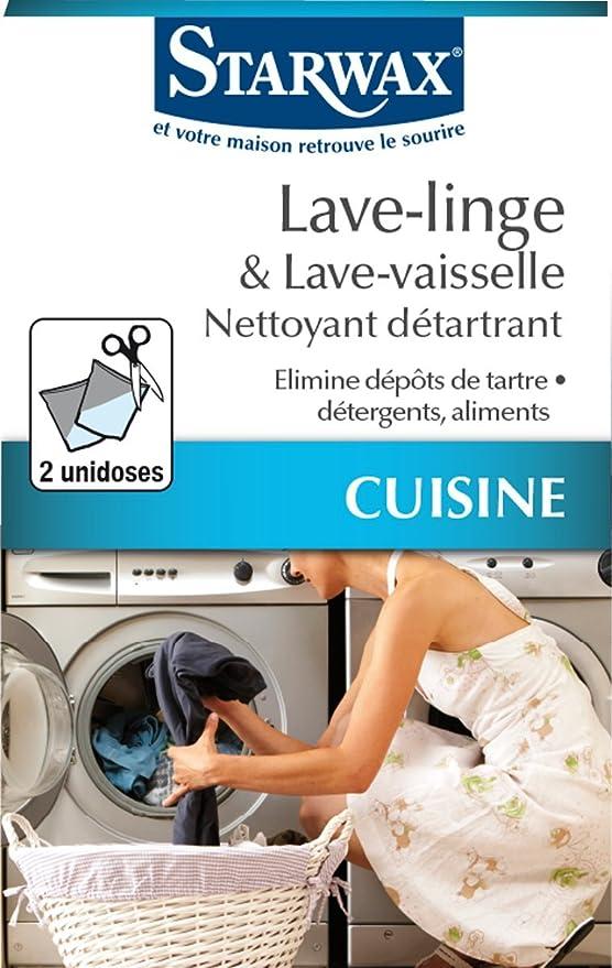 STARWAX - Producto antical para lavadoras y lavavajillas [francés ...