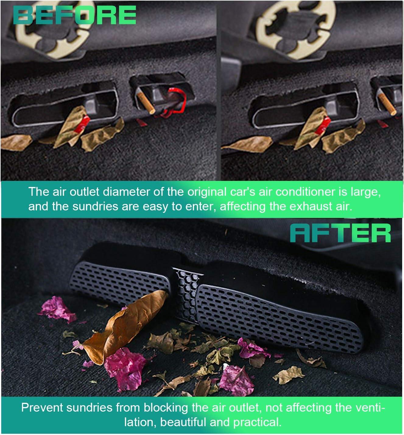 2 pezzi SHAOHAO Air Vent copertura per VW t-ROC copertura di protezione griglia di ingresso aria condizionata