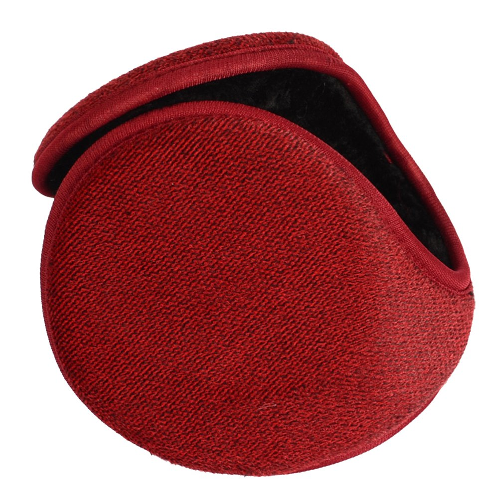 Binhee Unisex Warm Winter Ear Muffs Plush Earmuffs Foldable Size Adjustable