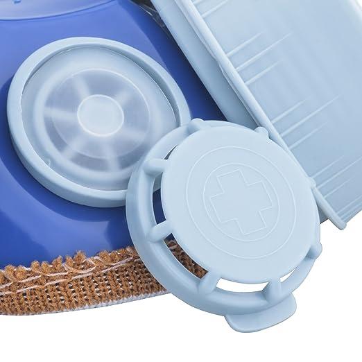 Leeko Mascarilla Respiradora de Gafas- Anti-polvo de Gas Chemical con Doble Cartucho Máscara de Pintura Filtro Gafas Set (Azul): Amazon.es: Bricolaje y ...