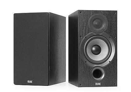 ELAC Debut 20 B62 Bookshelf Speakers Black Pair