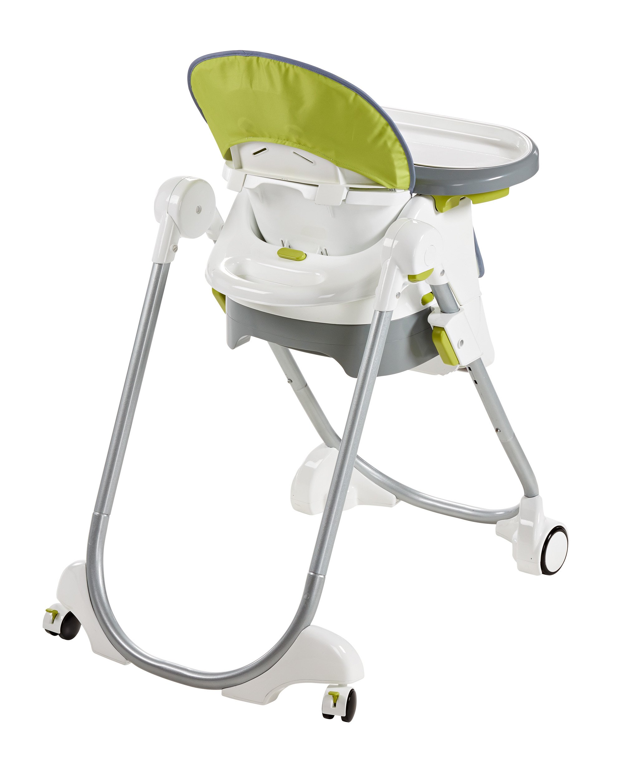 Fisher-Price 4-in-1 Total Clean High Chair, Green/Gray by Fisher-Price (Image #8)
