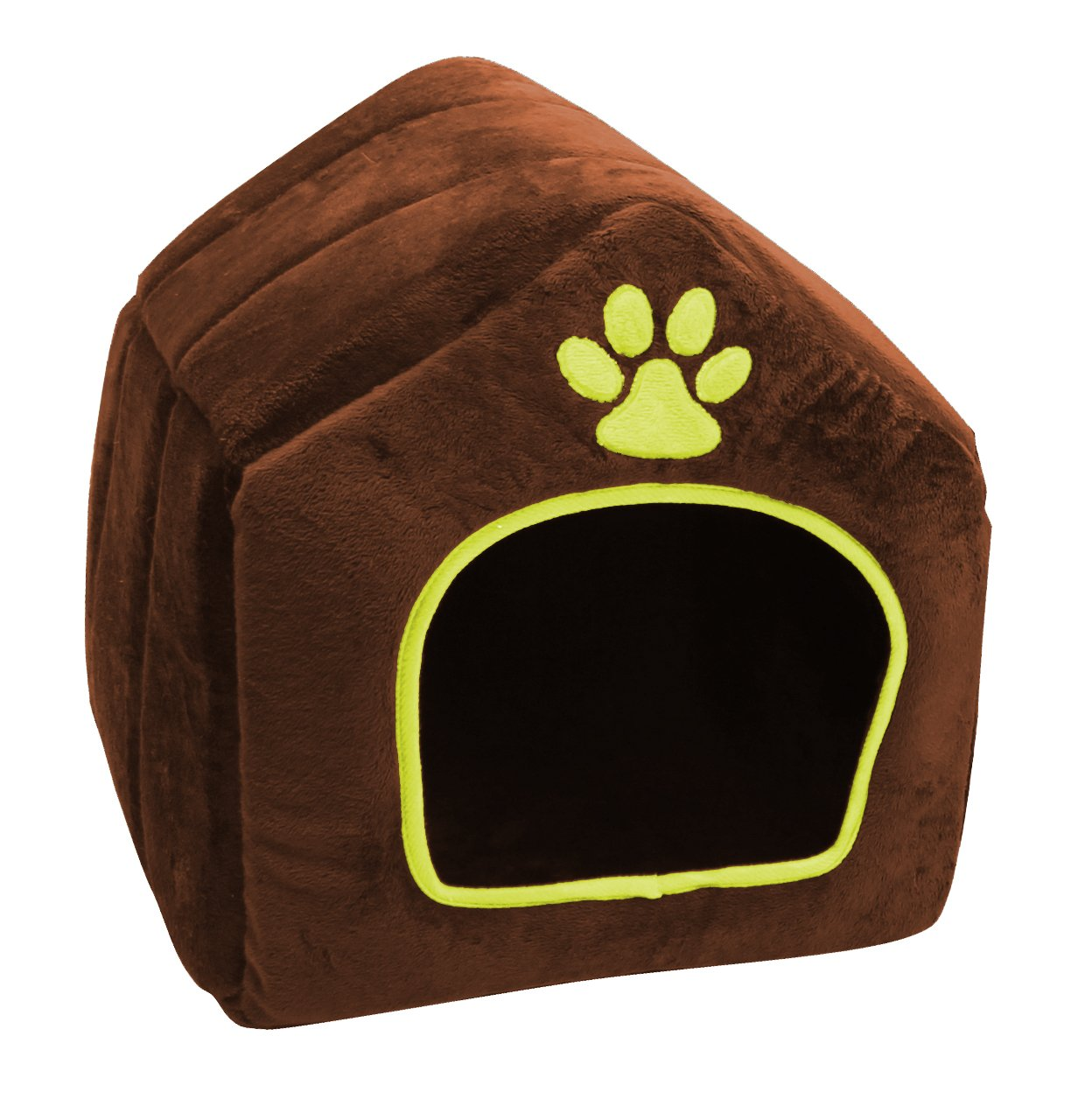 purrrfect life House Shaped Pet Bed, Small
