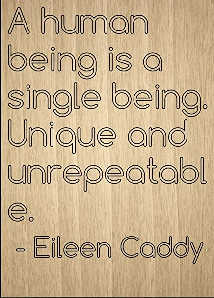 Amazoncom A Human Being Is A Single Being Unique Quote By