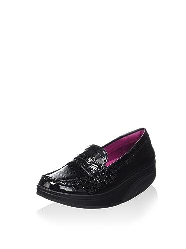 Mbt SHANI LUXE W BLACK - Chaussures Mocassins Femme