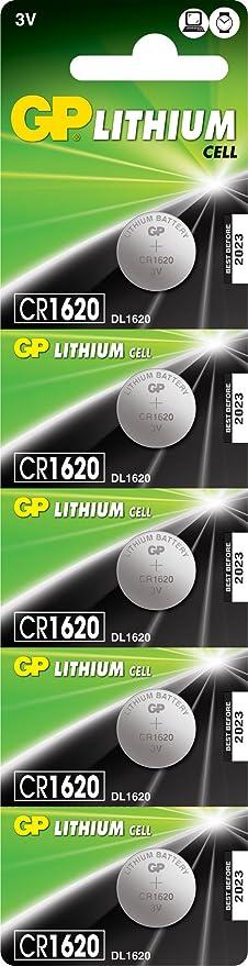 Gp Cr1620 7u5 Lithium Batterie Cr1620 Blister Elektronik