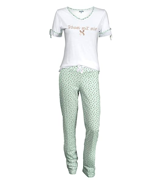 Louis & Louisa - Pijama - para mujer Weiß L