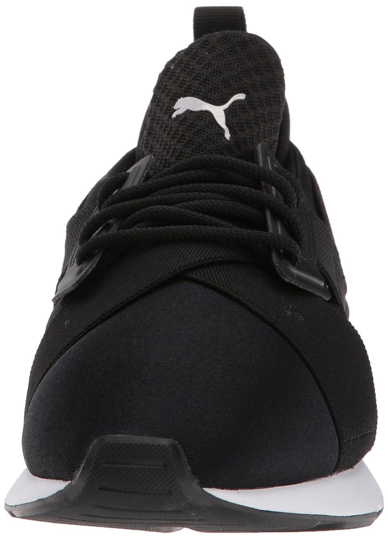 PUMA Women's Muse Satin En Pointe Wn Sneaker B071X5G2Z3 5.5 B(M) US|Puma Black-puma White
