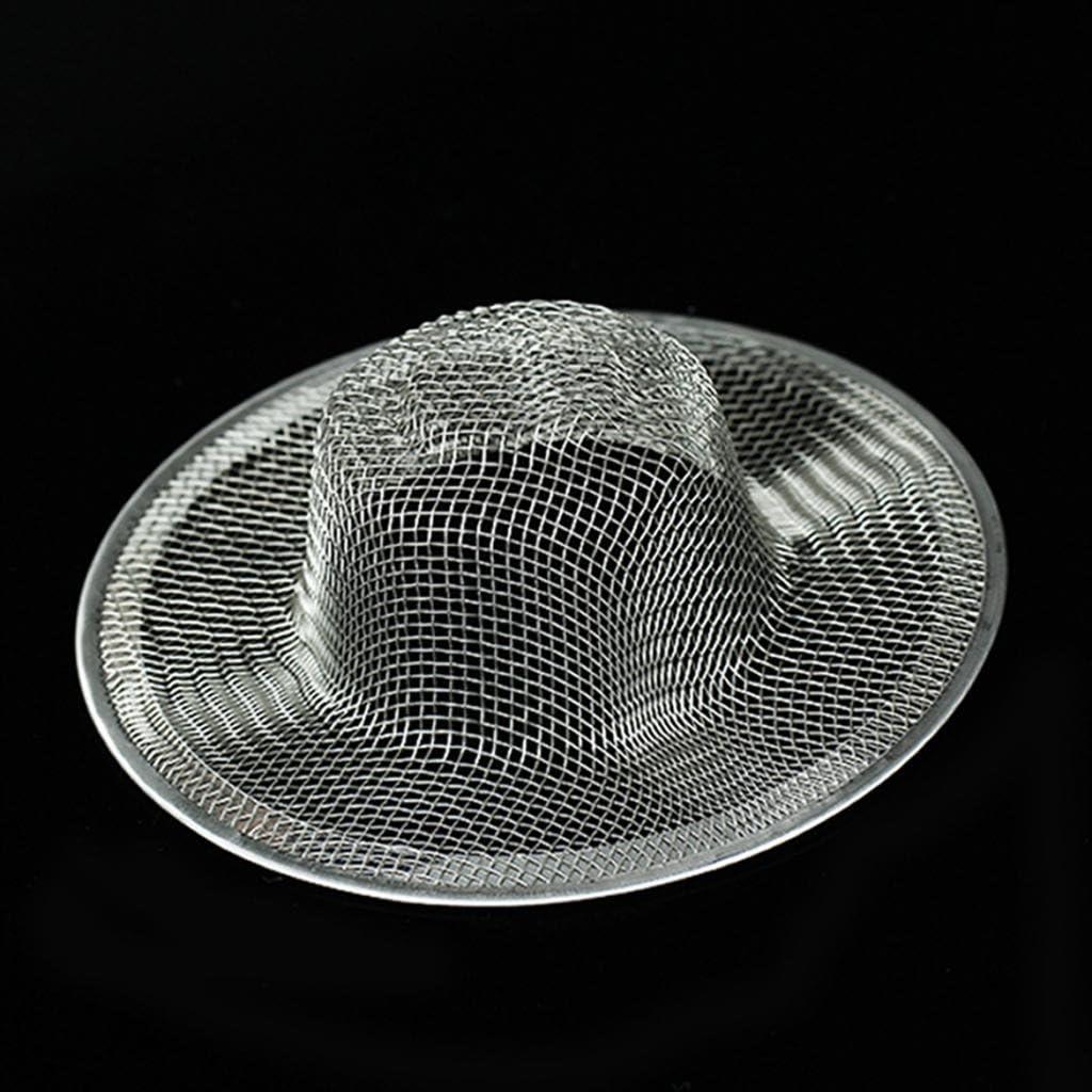 Abflusssieb K/üche Waschbecken Abfluss Filter Sieb Durchmesser 113mm