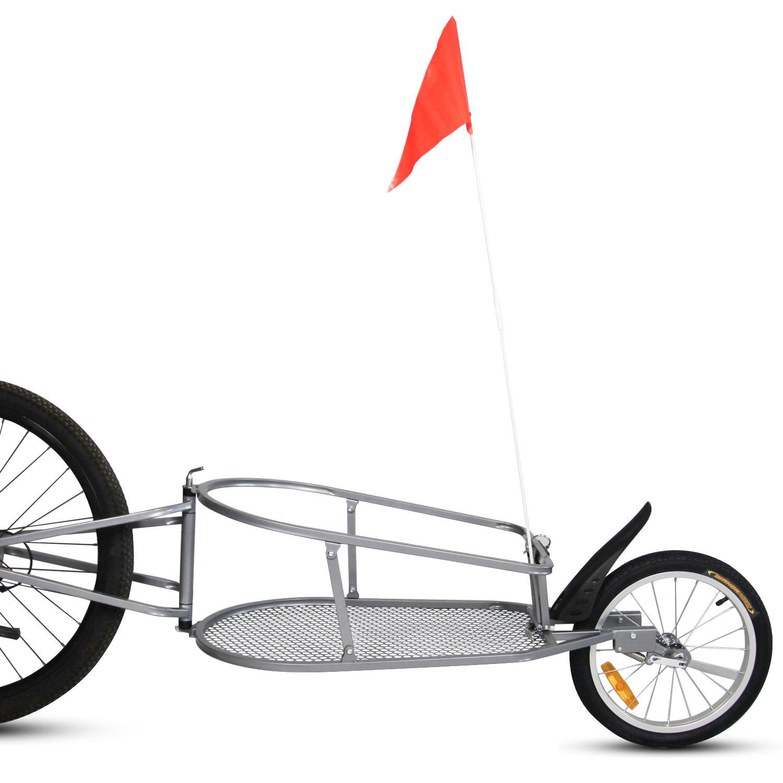 Peach Tree Pet Dog Bike Bicycle Trailer Cargo Stroller Jogger w/Orange Bag by Peachtree Audio (Image #2)