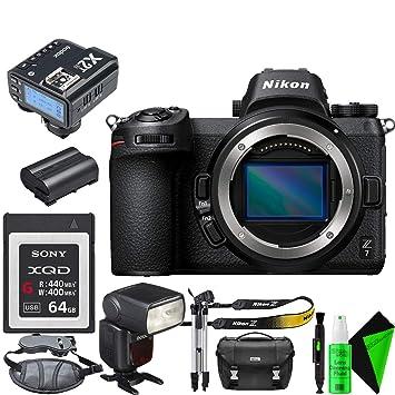 Amazon.com: Nikon Z 7 - Cámara digital sin espejo (cuerpo ...