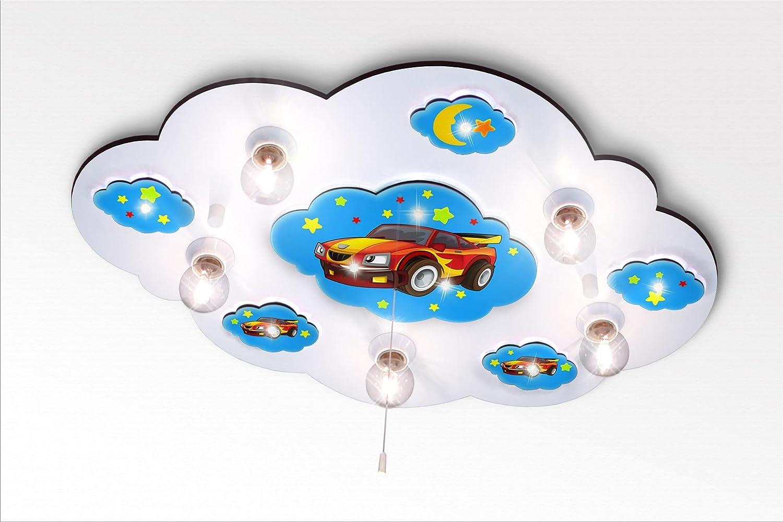 Kinderzimmerlampe LED-Nachtlicht / Kinderlampe (166-2) Farbe: Blau ...