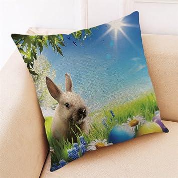 Reooly Happy Easter Sofa Bed Decoración del hogar Festival ...