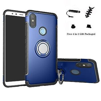 LFDZ Xiaomi Mi A2 Anillo Soporte Funda 360 Grados Giratorio Ring ...