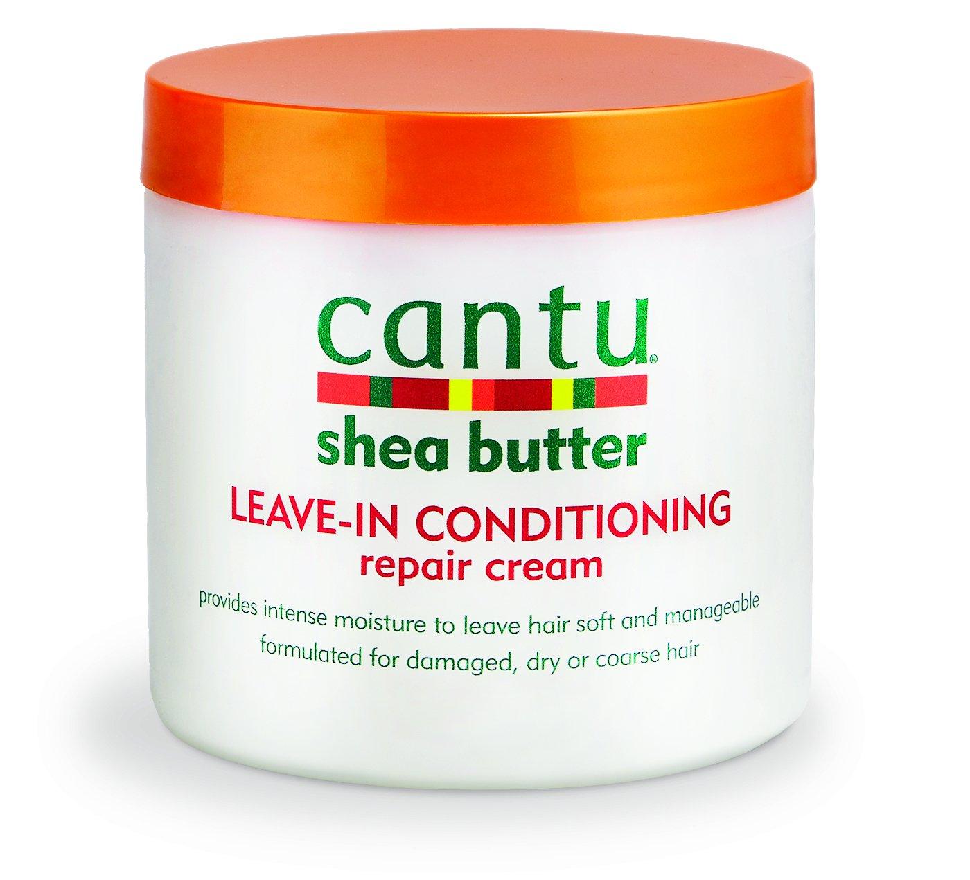 amazoncom cantu shea butter leavein repair cream 16 ounce cantu beauty