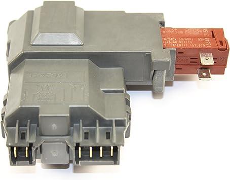 131763202 Door Lock Switch for Frigidaire Washer Door Latch Replacement and 131763310 Striker 131763255 131763256 131763310