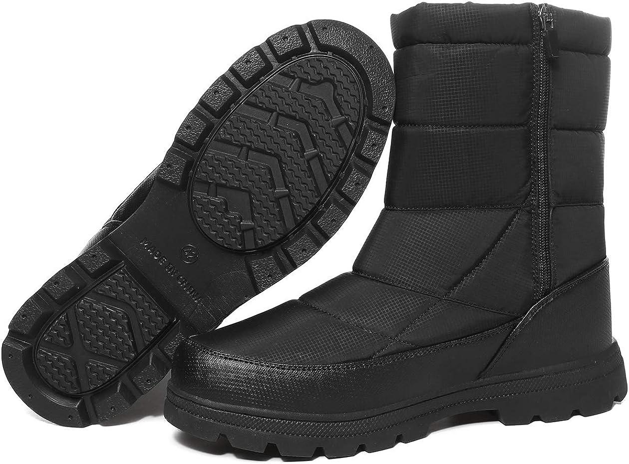 aeepd Winter Snow Boots Men Women