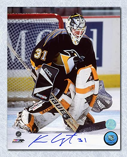 Ken Wregget Pittsburgh Penguins Autographed 16x20 Photo at Amazon s ... 9914ed54a