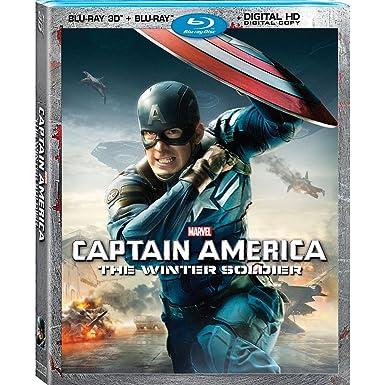 Captain America: The Winter Soldier [Region 1]: Amazon.es ...