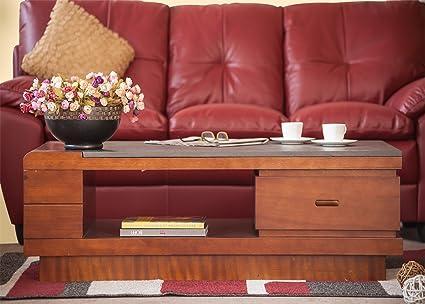 Durian Ashton Coffee Table Matt Finish Brown Amazonin Home - Ashton coffee table