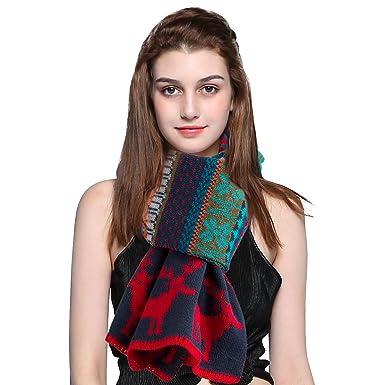 516f8ef1b1e8 sumuya - Ensemble bonnet, écharpe et gants - Femme - Rouge - Taille unique