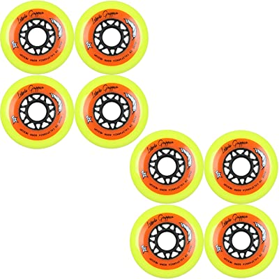 Labeda Wheels Roller Hockey Gripper 80mm Medium 83A 8pk : Sports & Outdoors