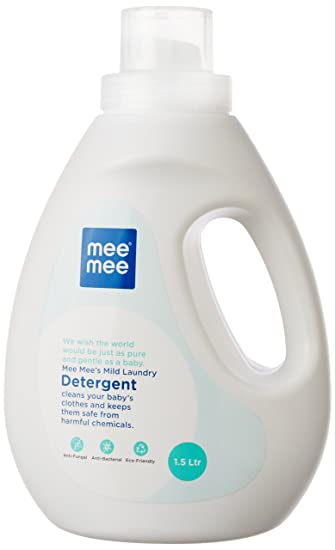 Buy Mee Mee Mild Baby Liquid Laundry Detergent 1 5 Ltr Online At