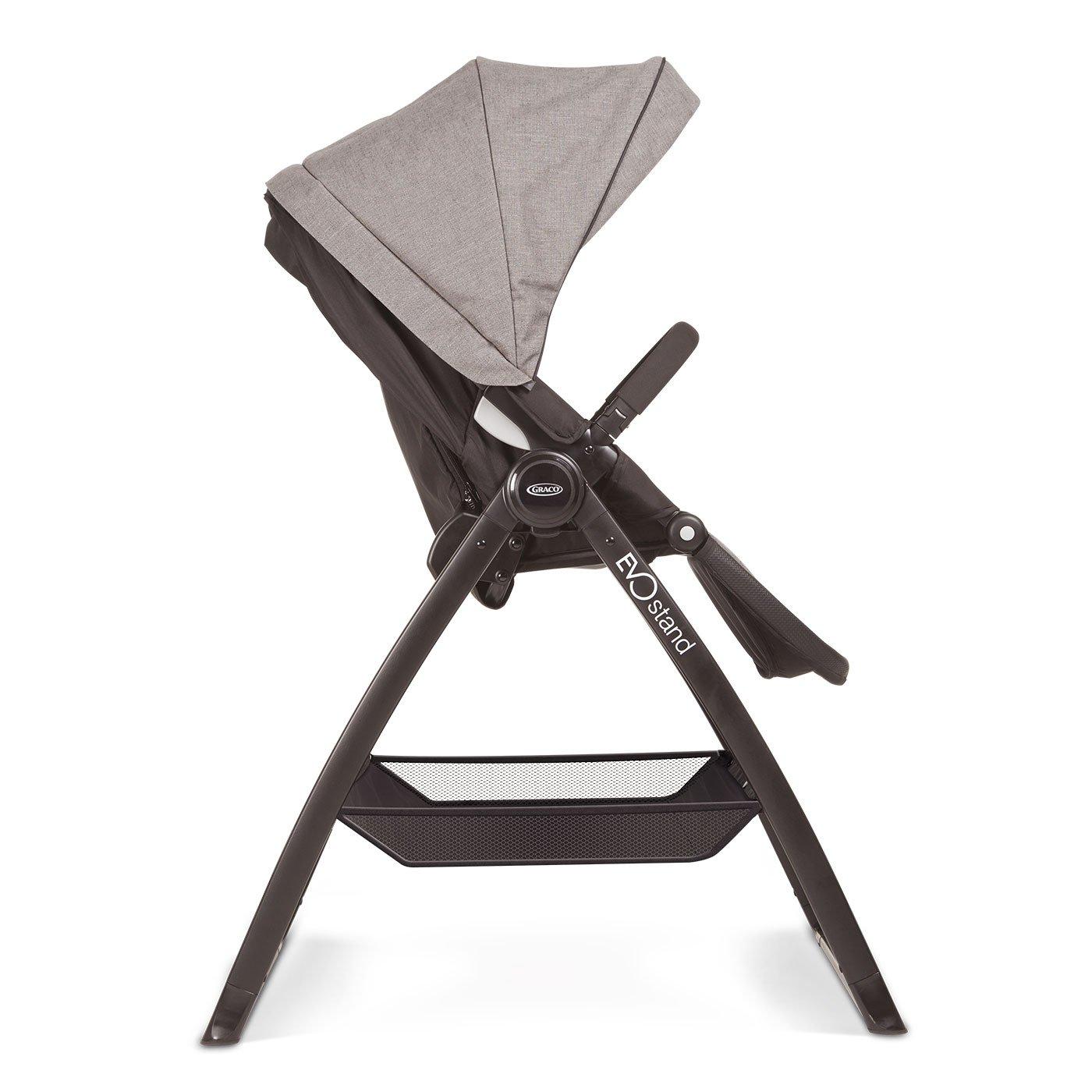 Graco EVO STAND - accesorios para sillas de coche para bebes (Graco Evo Carrycot, Negro, 500 mm, 740 mm, 630 mm, 13 cm): Amazon.es: Bebé