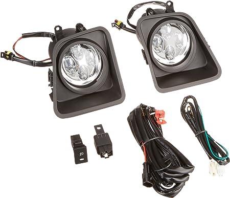 Fits Toyota Tundra 2014-2016 Daytime DRL LED Running Spyder LED Fog Lights