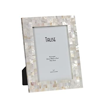 talise 5 inch by 7 inch luxury frame izzy 37 - Mother Of Pearl Picture Frame