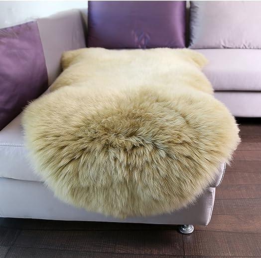 Carpet Ivory White XL Zealand Genuine Natural Sheepskin Rug Rug Color   C
