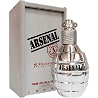 Gilles Cantuel Arsenal Platinum for Men 3.4 oz. EDP Spray, 100 ml