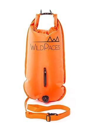 28L Color naranja natación boya flotador por wildpaces de remolque seguridad alta visibilidad naranja para al