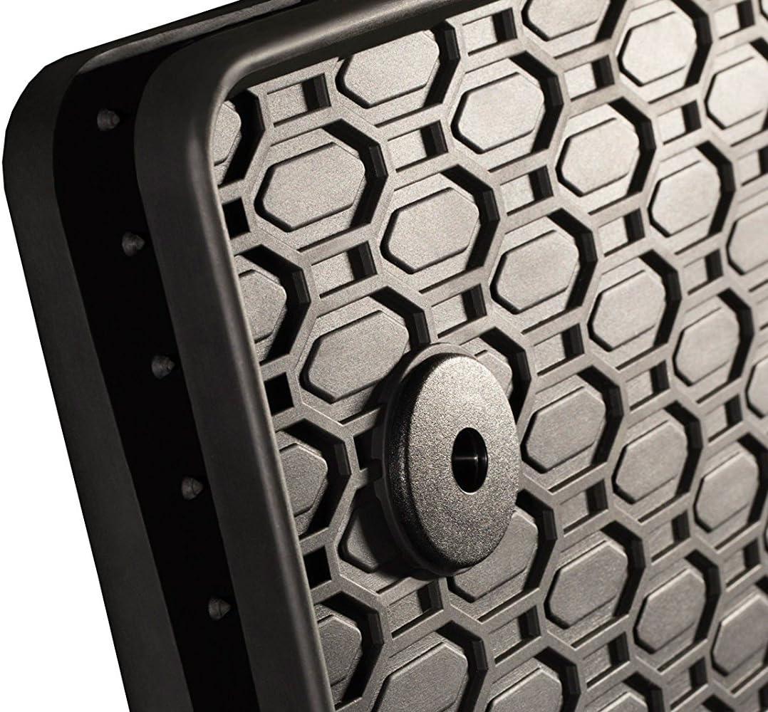 AME Passgenau zum: Seat Leon 5F // ST//R 4er Set Gummimatten 4X Fu/ßmatten Original Befestigung inkl. Gummimatten Mit Geringster Abnutzung Garantiert Matten Stabil