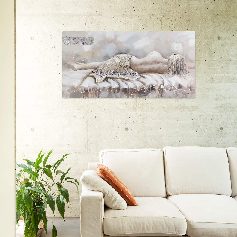 Kunstloft® Cuadro en acrílico Sin ti 120x60cm | Original ...
