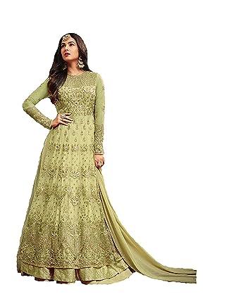 4f06dd58a2 Women's Anarkali Salwar Kameez Designer Indian Dress Ethnic Party  Embroidered Gown