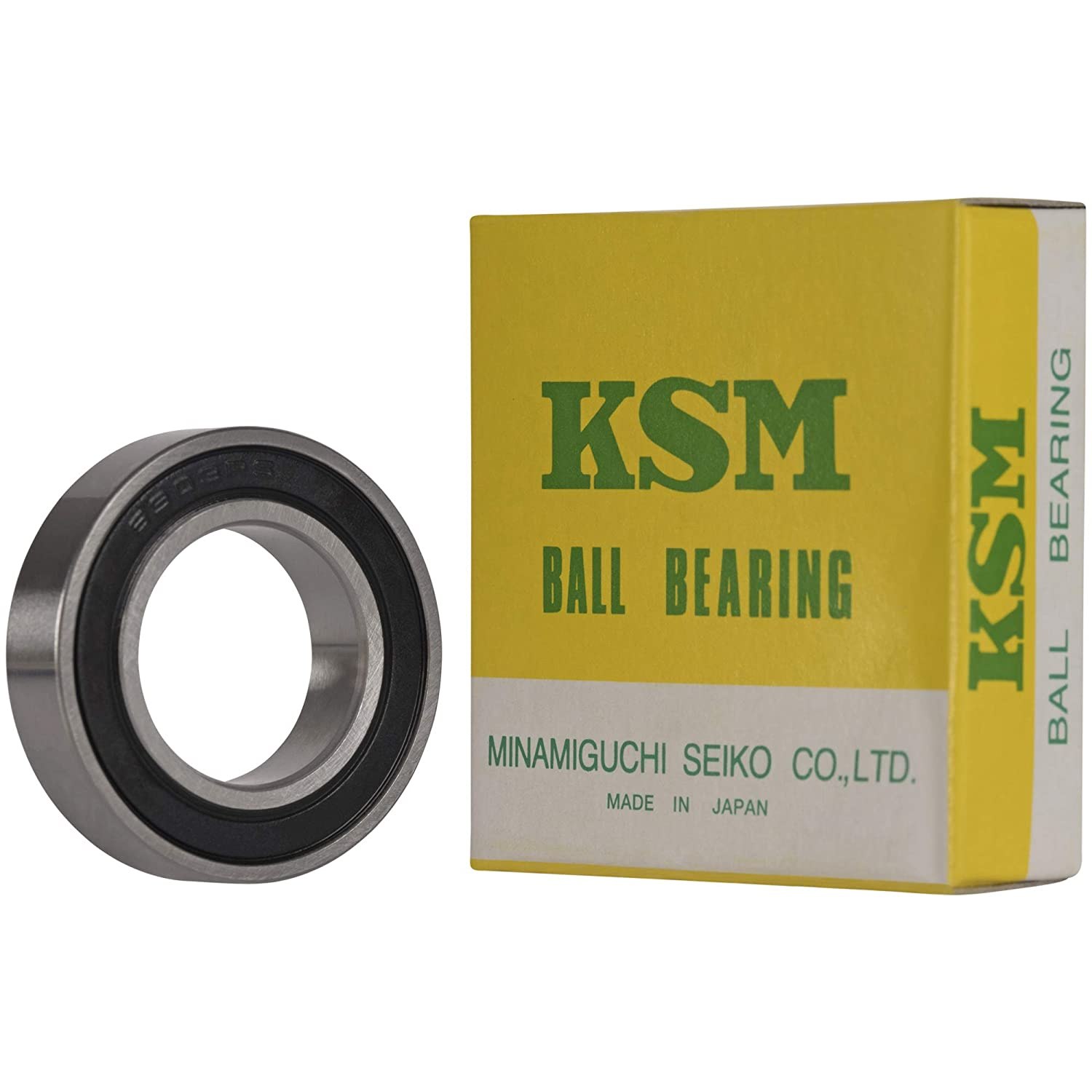 Ball Bearings Black Rubber Sealed Bearing 5 PCS 6801-2RS 12x21x5