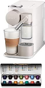 De'Longhi Nespresso Lattissima One, Capsule Coffee Machine, EN500W, White