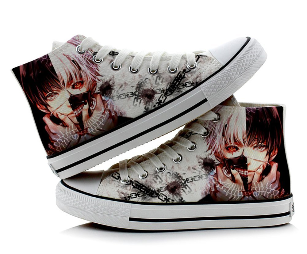 Tokyo Ghoul Kaneki Ken Cosplay Shoes canvas Shoes sneakers Colourful 1, Uomo Ragazzi donna, colourful