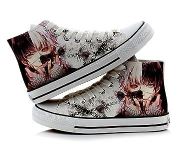 1c5dc052c6893 Telacos Tokyo Ghoul Kaneki Ken Cosplay Shoes Canvas Shoes Sneakers  Colourful 1