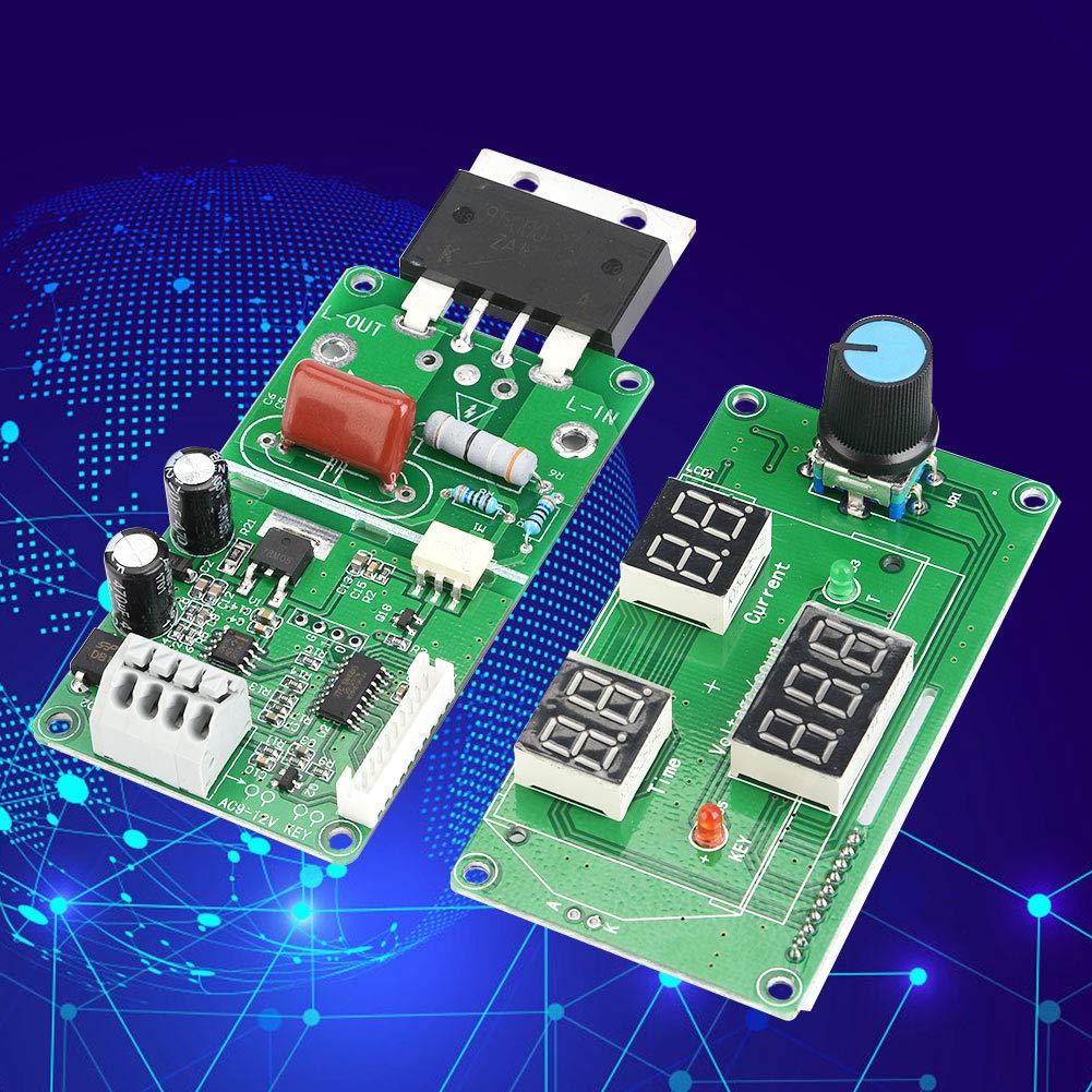 100A Spot Welder Control,Spot Welder Time Control Module Digital Display Controller Board