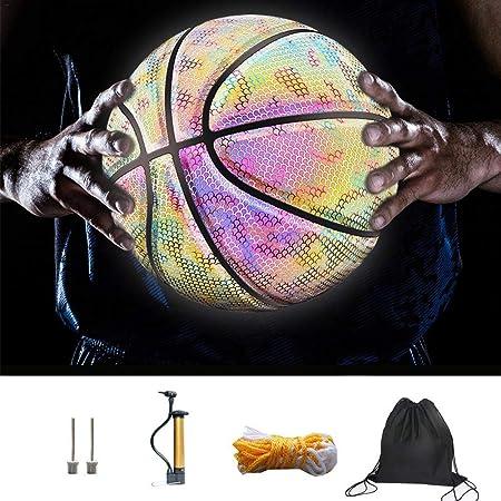Balón de Baloncesto - Interior se Enciende Cuando se rebotado ...